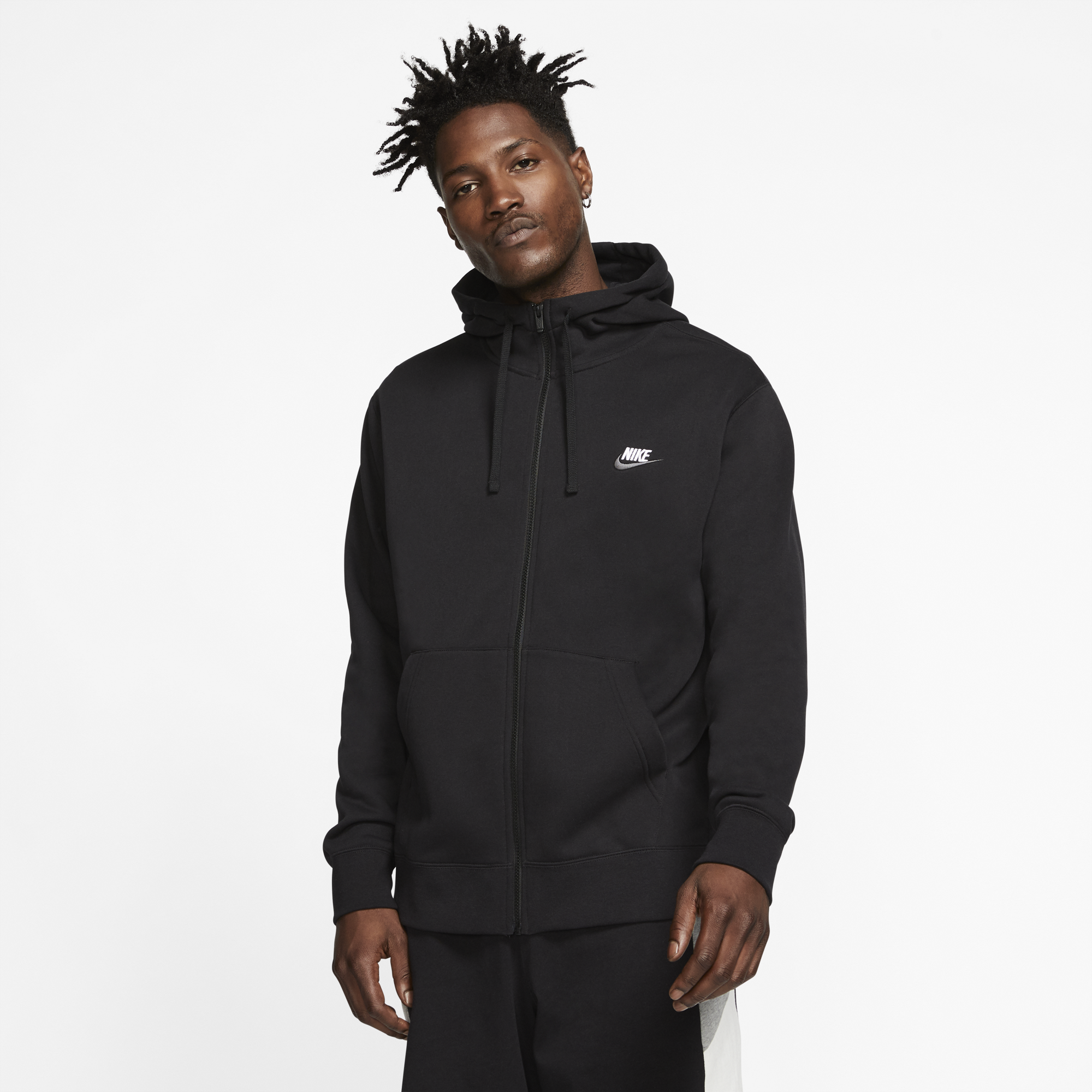 NIKE NSW CLUB HOODIE FULL-ZIP