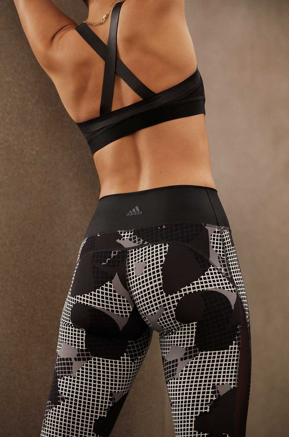 LEGGINSY DAMSKIE ADIDAS BELIVE THIS HIGH RISE TIGHT CX0011