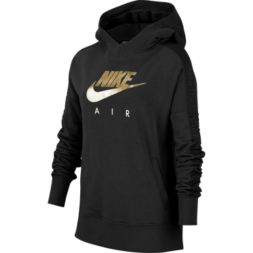 BLUZA JUNIOR NIKE AIR PO GX CZARNA BV2709-010