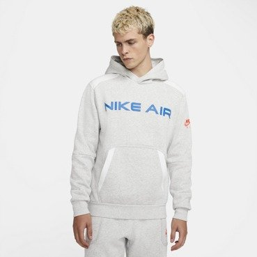 BLUZA MĘSKA NIKE NSW AIR FLEECE HOODIE SZARA DA0212-052