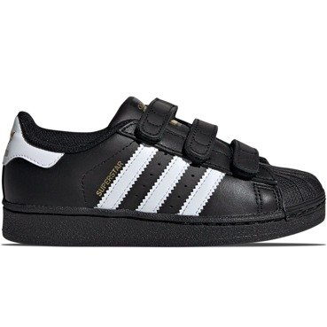 BUTY JUNIOR ADIDAS SUPERSTAR CZARNE B26071