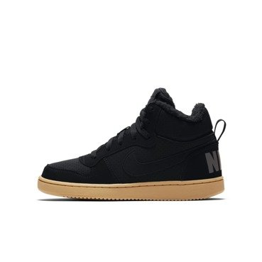 BUTY JUNIOR LIFESTYLE NA ZIMĘ NIKE COURT BOROUGH MID WINTER GS CZARNE AA3458-002