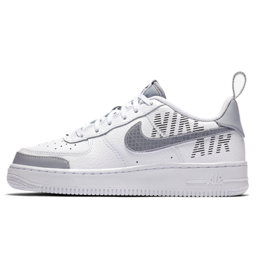 BUTY JUNIOR NIKE AIR FORCE 1 LV8 2 BIAŁE BQ5484-100
