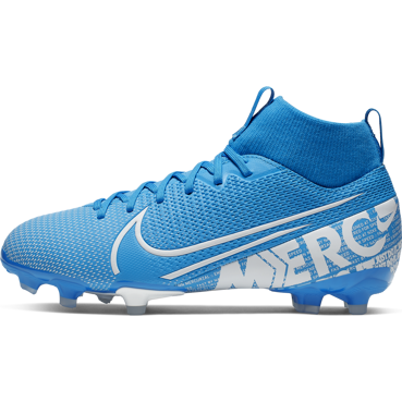 BUTY JUNIOR NIKE SUPERFLY 7 ACADEMY FG/MG NIEBIESKIE AT8120-414