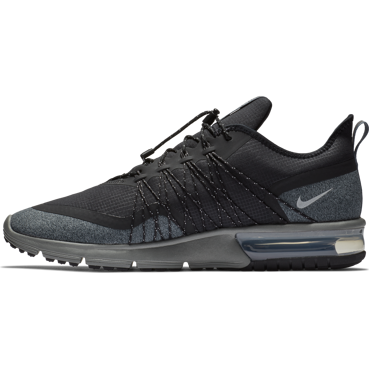 BUTY MĘSKIE DO BIEGANIA NIKE AIR MAX SEQUENT 4 SHIELD CZARNE AV3236-001