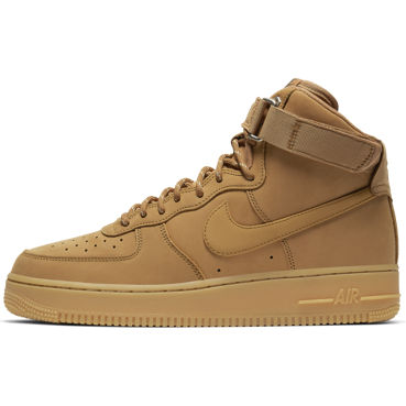 BUTY MĘSKIE NIKE AIR FORCE 1 HIGH '07 WB BRĄZOWE CJ9178-200