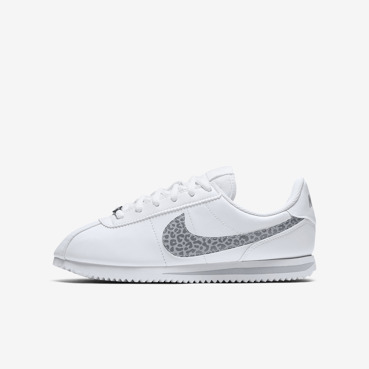 Buty juniorskie Nike Cortez Basic SL (GS) White/Atmosphere Grey AH7528 100