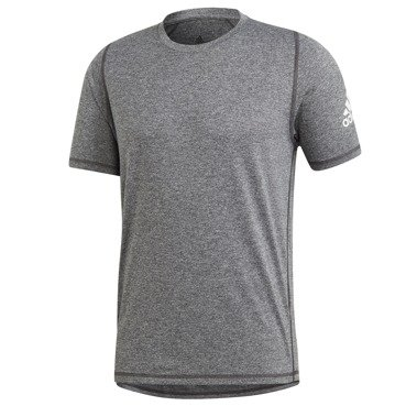 KOSZULKA MĘSKA ADIDAS FREELIFT SPORT ULTIMATE HEATHER TEE SZARA DU1450