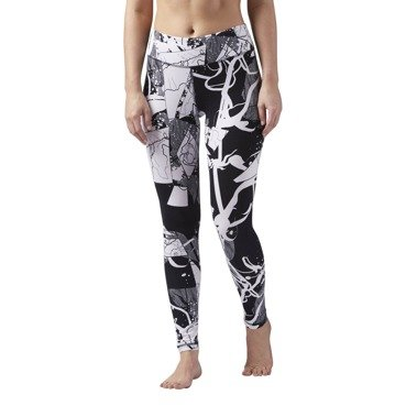 Legginsy sportowe Reebok Abstract CD5911