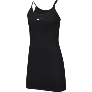 SUKIENKA NIKE NSW DRESS JDI RIB CZARNA CD6444-010