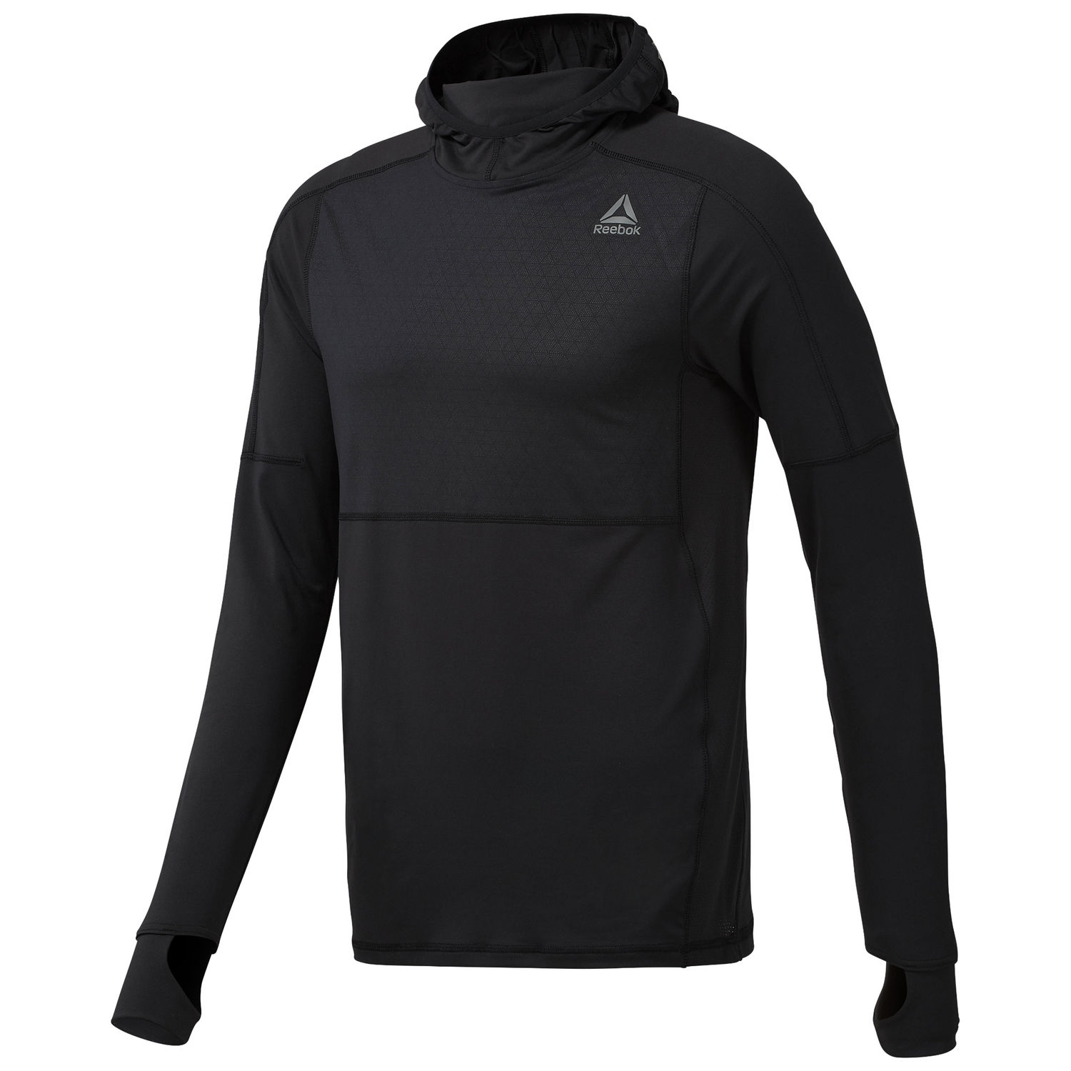 bluza do biegania Reebok Thermowarm Fitted
