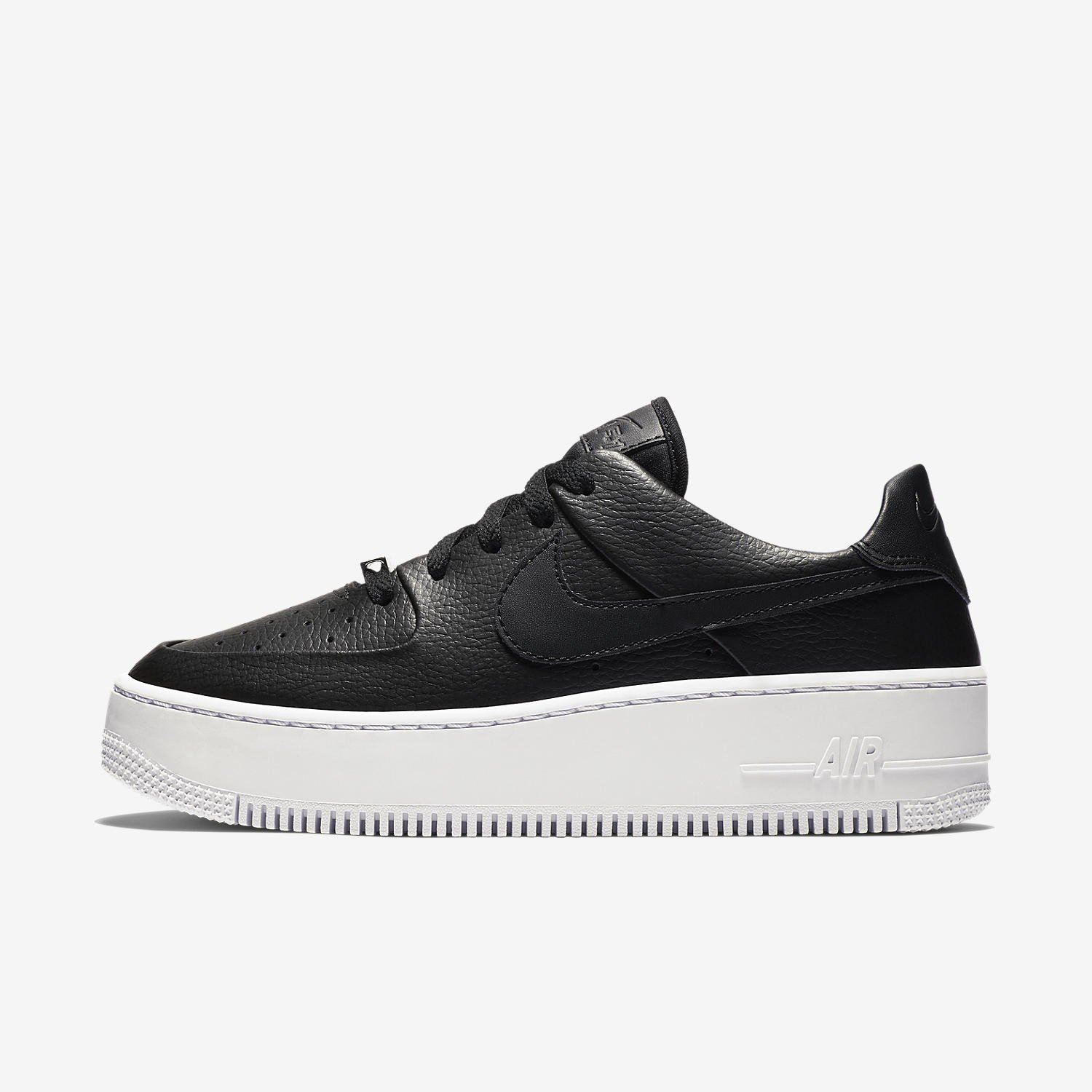 Buty Nike sage low 1 air force czarne