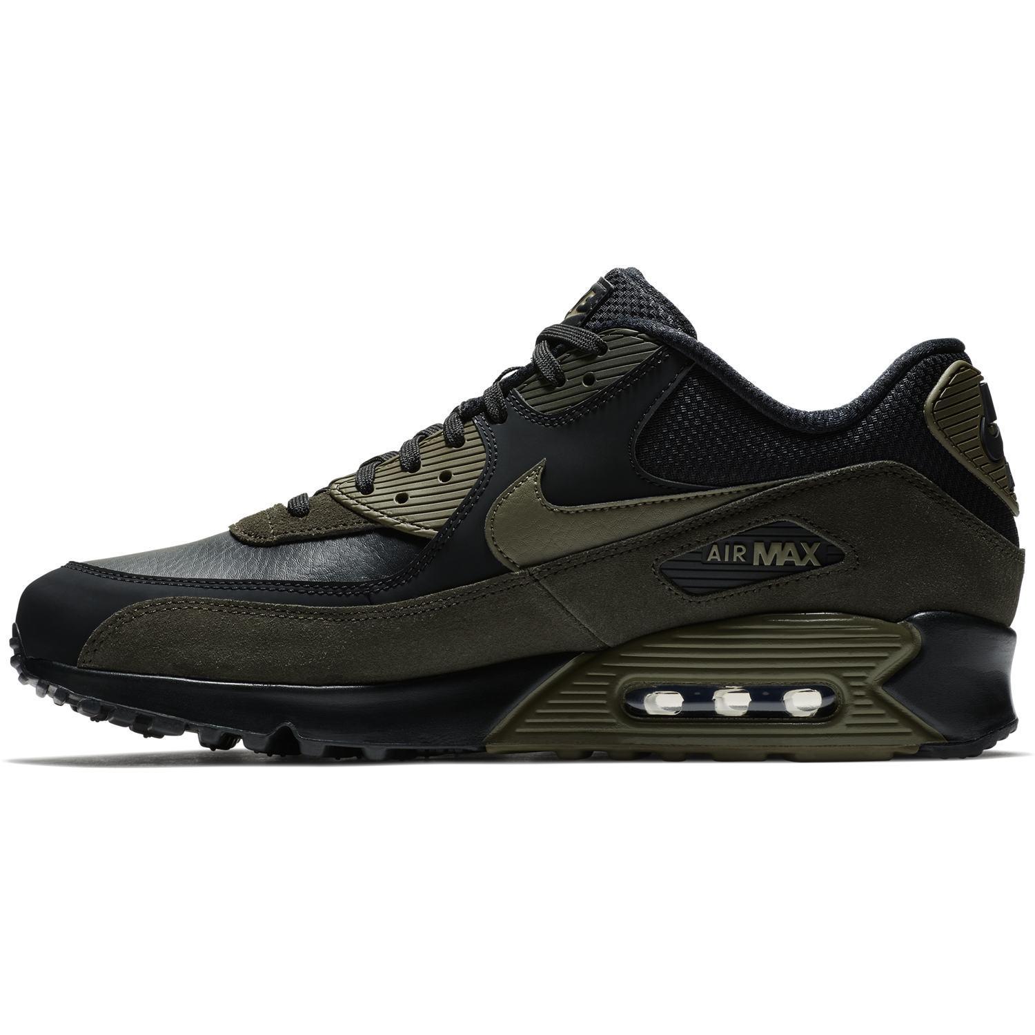 nike air max 90 leather zielone