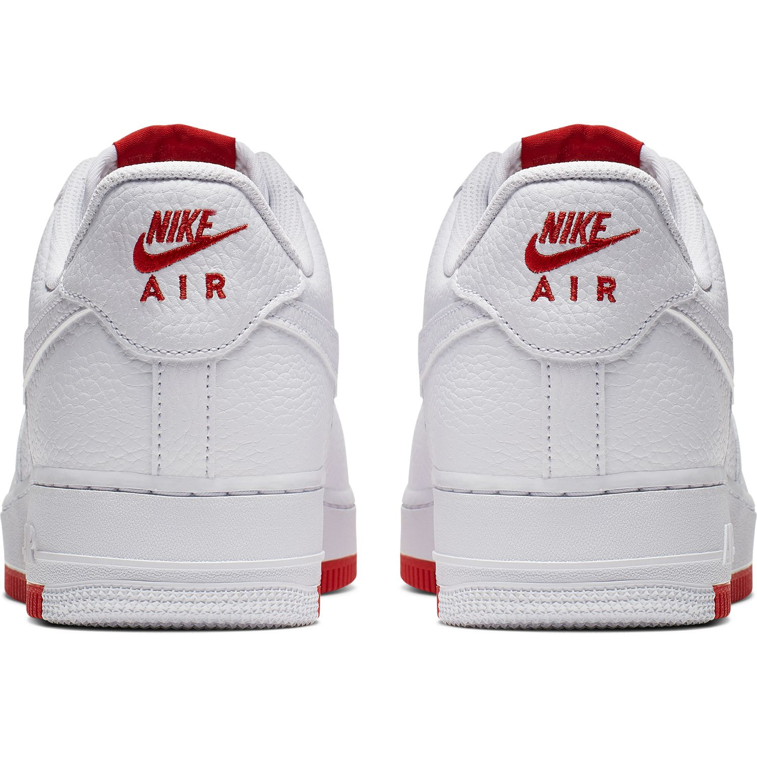 BUTY NIKE AIR FORCE 1 07 1 (AO2409 101) WhiteRed | Obuwie