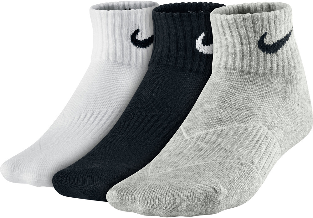 Skarpety Nike Cotton Cushion Quarter SX4722 967