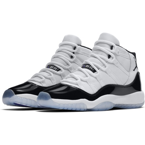 BUTY JUNIOR JORDAN AIR 11 RETRO BIAŁE 378038-100 (GS)