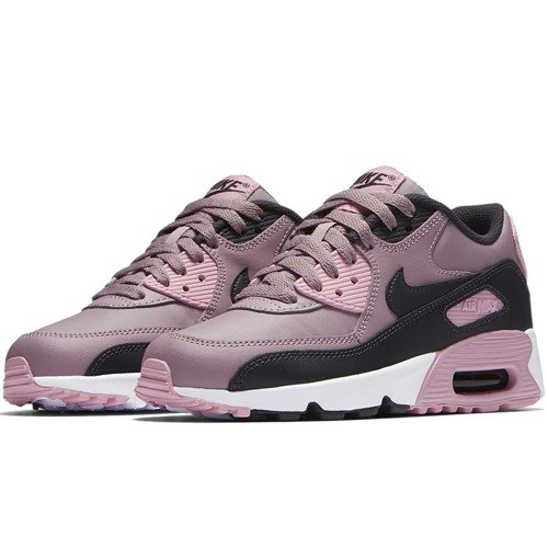 BUTY JUNIOR LIFESTYLE NIKE AIR MAX 90 LEATHER RÓŻOWE 833376-602