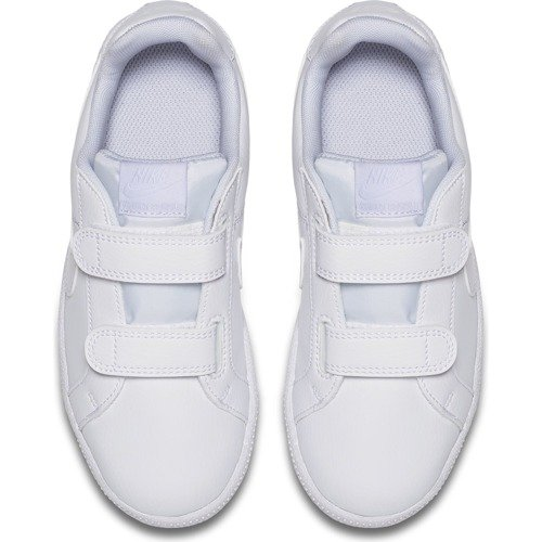 BUTY JUNIOR NIKE COURT ROYALE BIAŁE 833536-102 (PS)