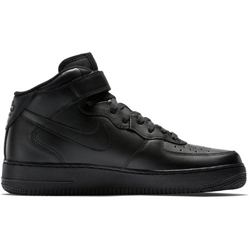 NIKE AIR FORCE 1 MID BLACK 315123-001