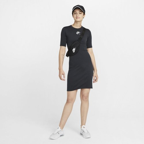 SUKIENKA NIKE AIR DRESS RIB CZARNA CZ8616-010